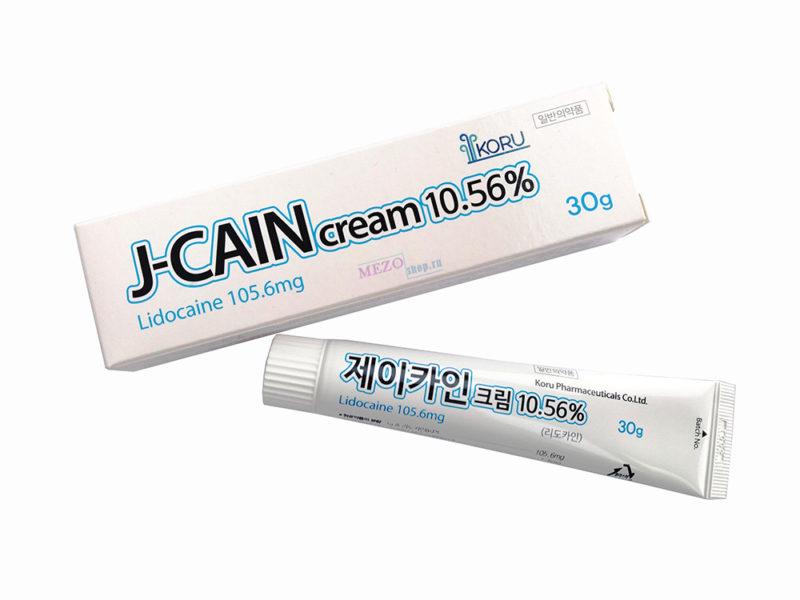 J-Cain cream 10.56% (30g)